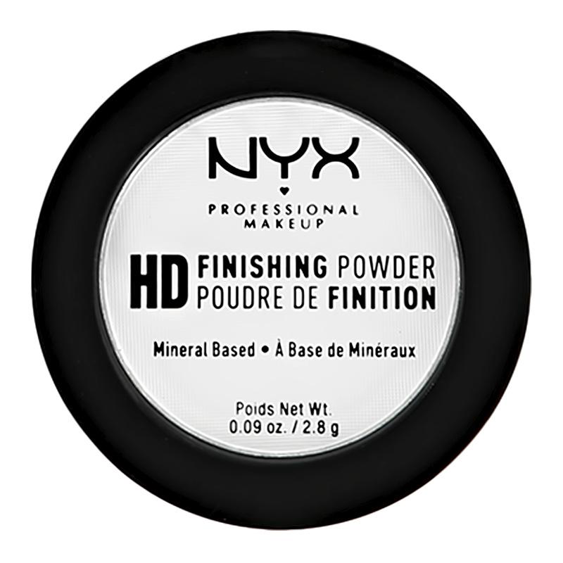 Пудра компактная для лица NYX Professional Makeup High Definition Finishing Powder мини тон 01 Translucent