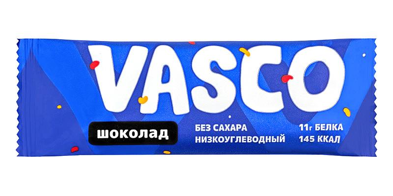Батончик глазированный «Шоколад», Vasco, 40 г