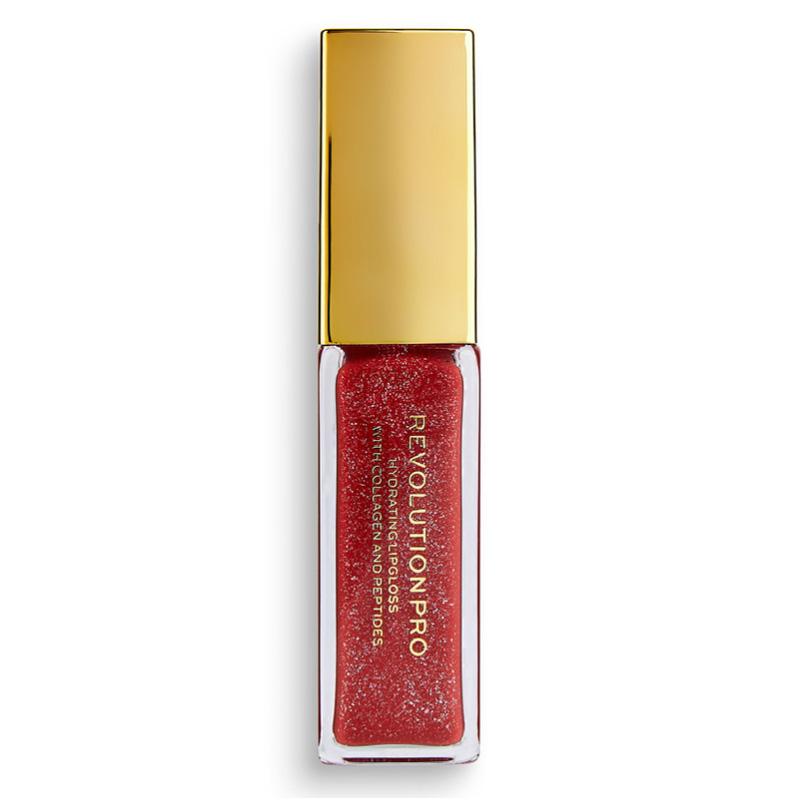 Блеск для губ Revolution Pro Hydrating Lipgloss With Collagen And Peptides тон Take A Stand
