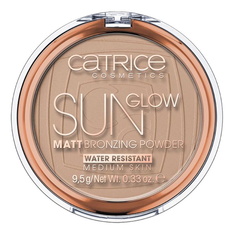 Бронзер Sun Glow Matt, Catrice в оттенке 030
