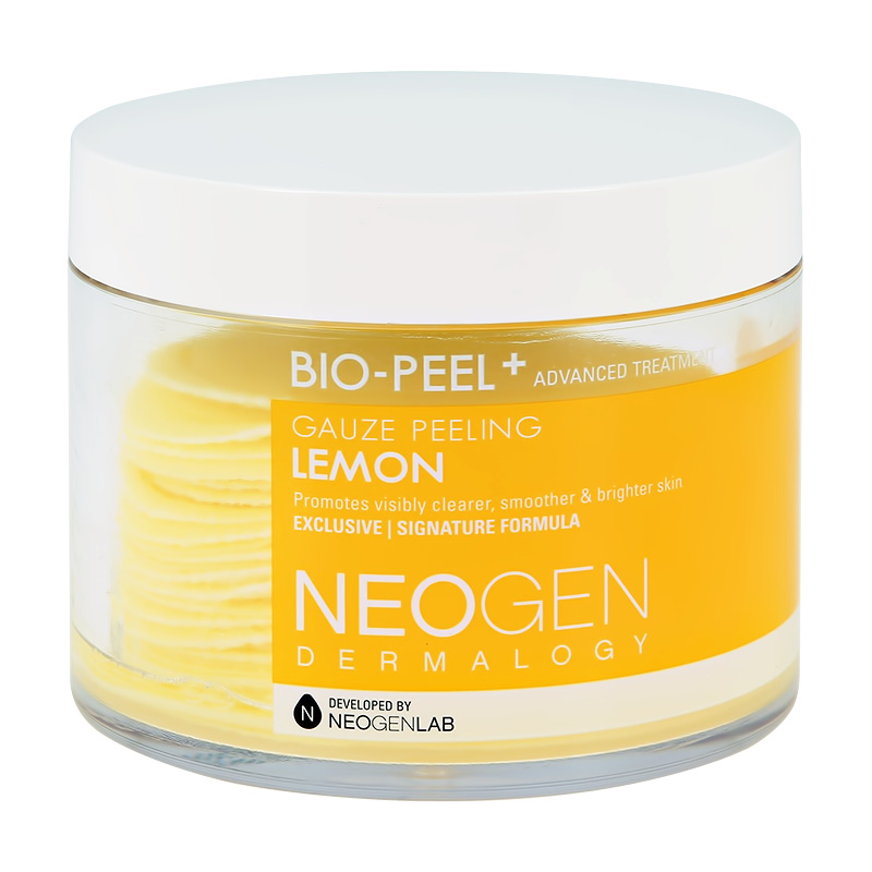 Диски для лица Neogen Bio-Peel+ отшелушивающие с экстрактом лимона