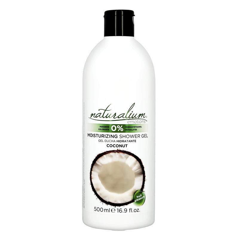 Гель-крем для душа Naturalium Emotions кокос