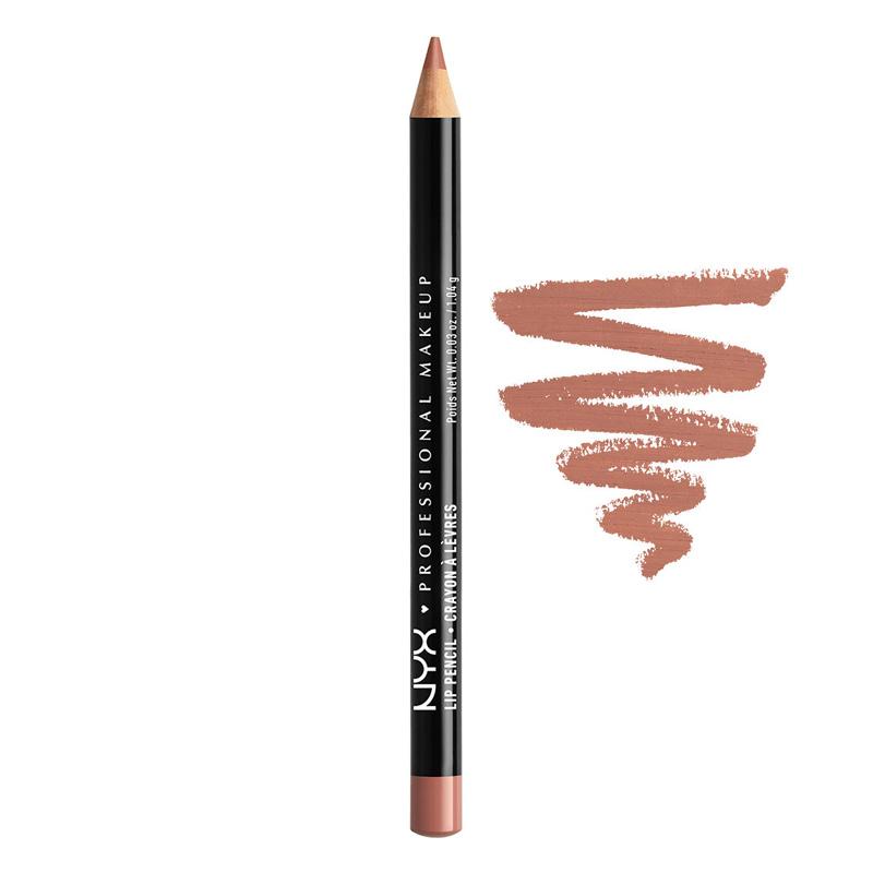 Карандаш для губ Slim Lip Pencil, NYX Professional в оттенке Peekaboo Neutral