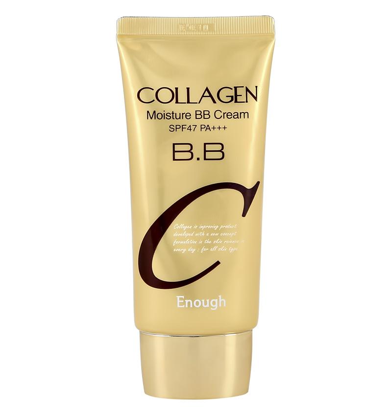 Крем тональный для лица Enough Collagen увлажняющий BB