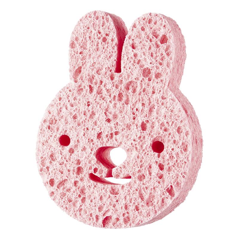 Мочалка детская для тела DECO. Kids целлюлозная (Rabbit)