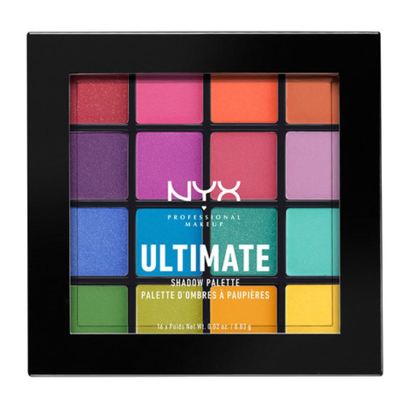 Палетка теней для век NYX Professional Makeup Ultimate тон 04 (Brights)