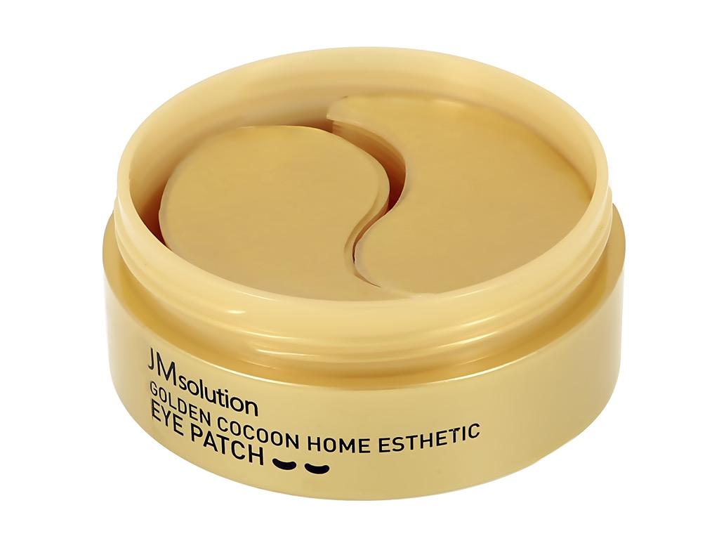 Патчи для глаз Jmsolution Golden Cocoon гидрогелевые с протеинами кокона шелкопряда и золотом