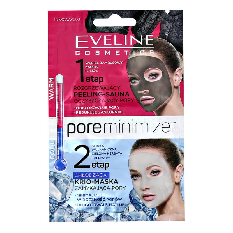 Пилинг + маска для лица Eveline Pore Minimizer