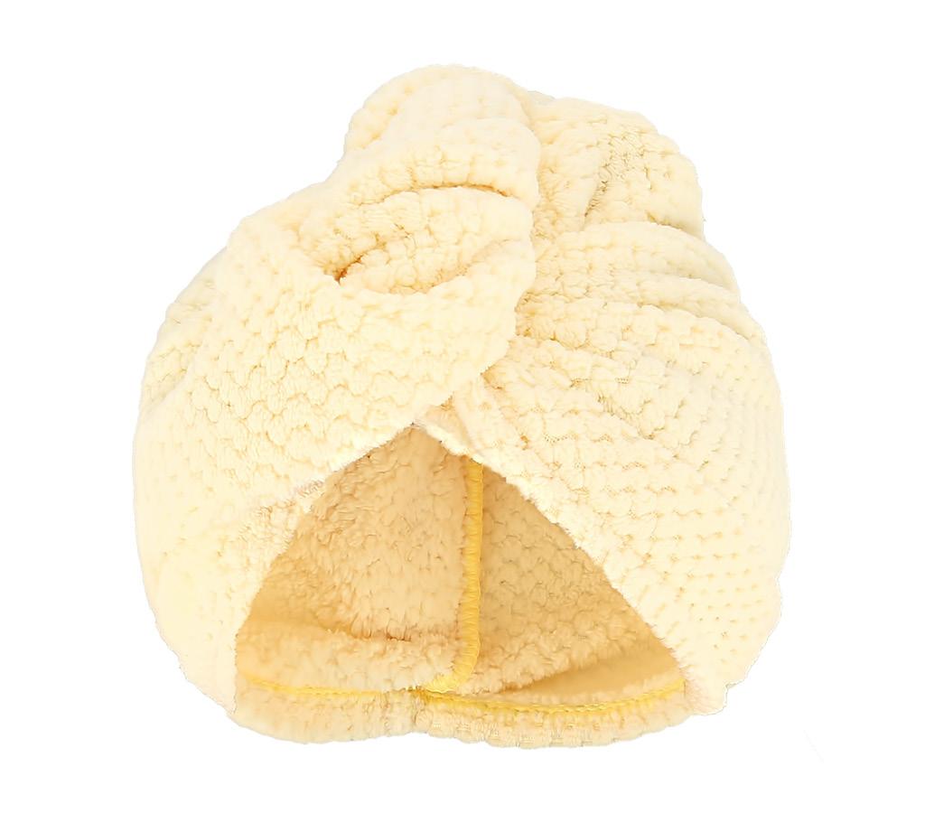 Полотенце-тюрбан для сушки волос DECO.