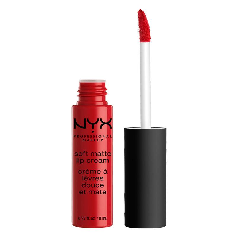 Помада для губ NYX Professional Makeup Soft Matte Lip Cream тон 01 Amsterdam Матовая жидкая