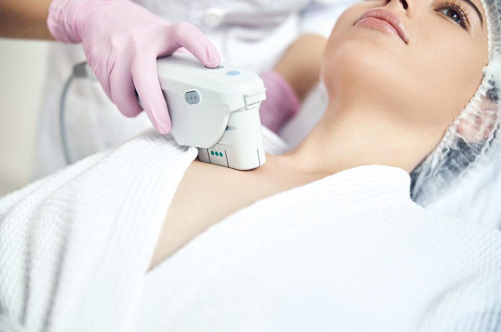 Салонные процедуры для шеи и декольте