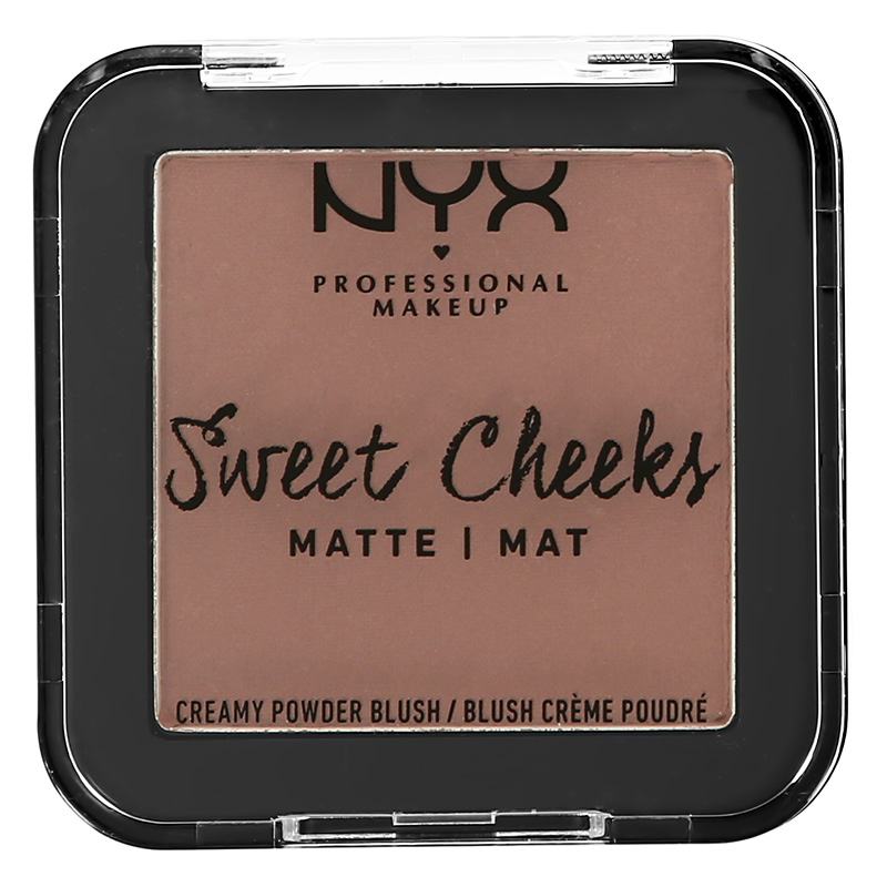Скульптор Sweet Cheeks Blush Matte, NYX Professional Makeup в оттенке So Taupe