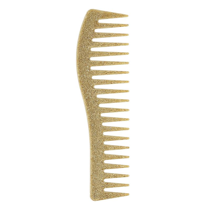 Эко-гребень для волос из кокоса Lady Pink с редкой щетиной