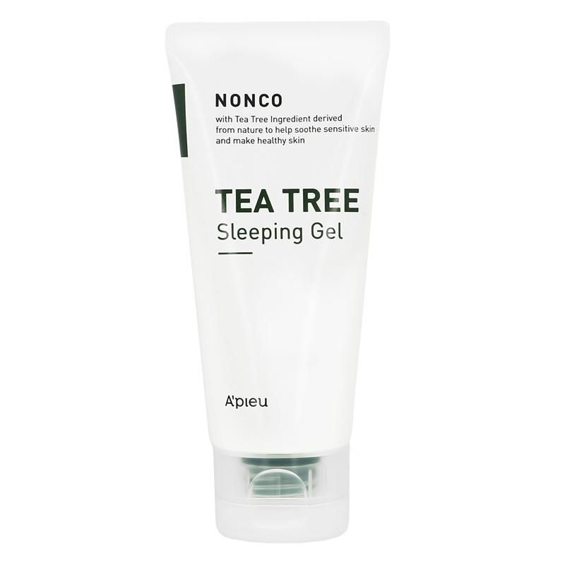 Гель для лица A`Pieu Nonco Tea Tree ночной с маслом чайного дерева