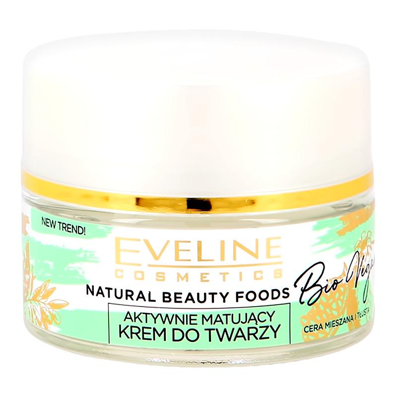 Крем для лица Eveline Bio Vegan дневной и ночной (активный матирующий)