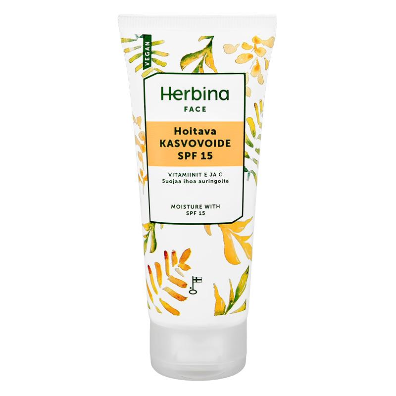 Крем для лица Herbina увлажняющий SPF-15