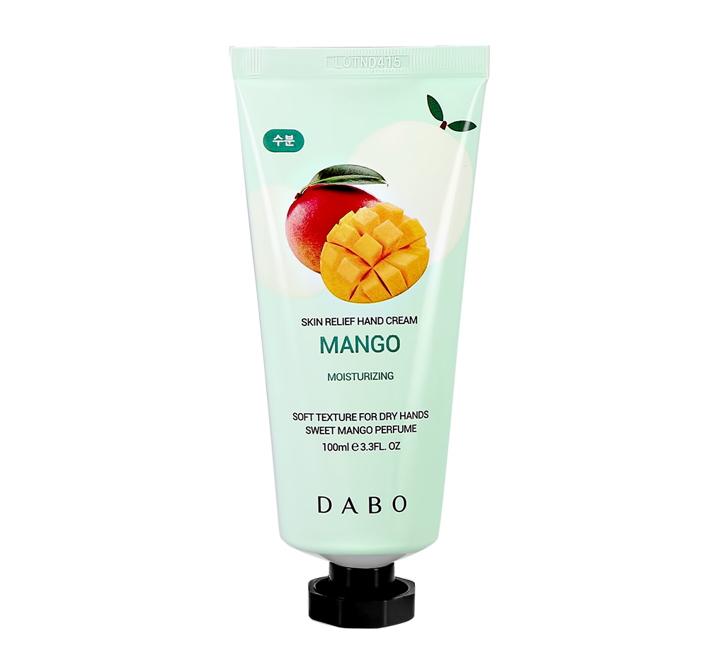Крем для рук Dabo с экстрактом манго (увлажняющий)