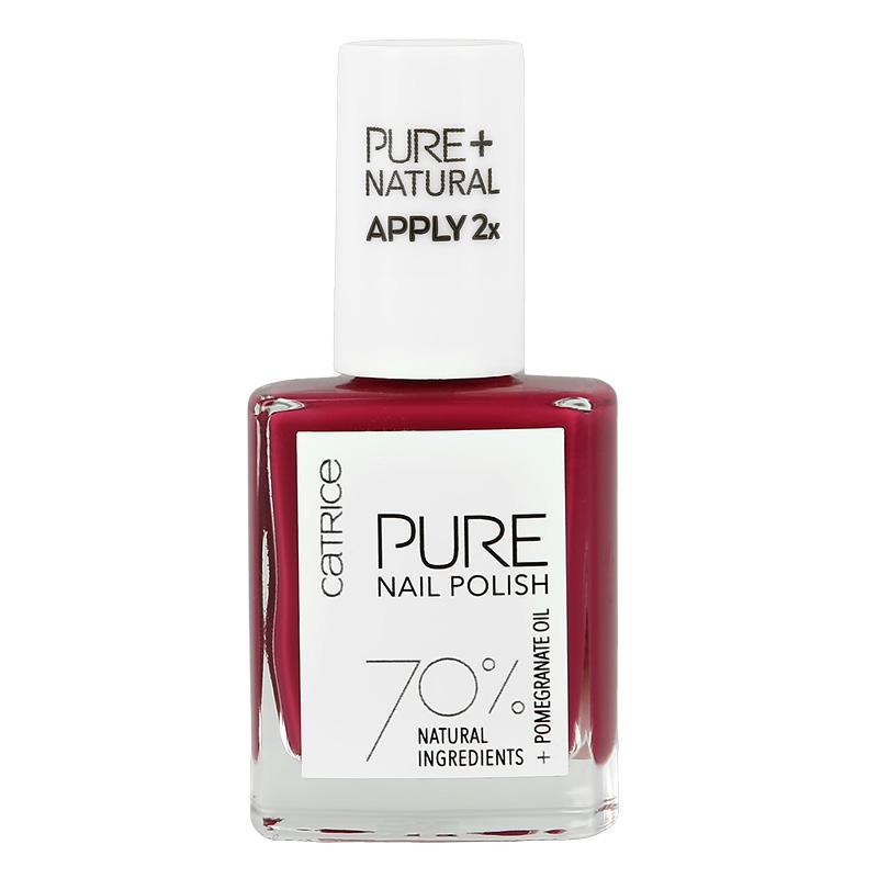 Лак для ногтей Catrice Pure Nail Polish тон 04 Simplicity (ягодный)
