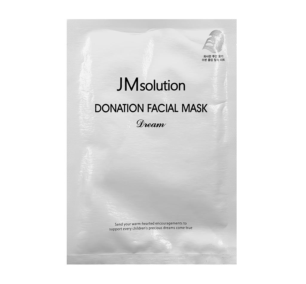 Маска для лица Jmsolution Dream с лактобактериями и коллагеном (омолаживающая)