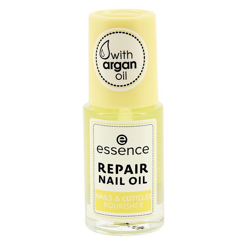 Масло для ногтей и кутикулы Essence Nails & Cuticles Nourisher Repair Nail Oil восстанавливающее питательное