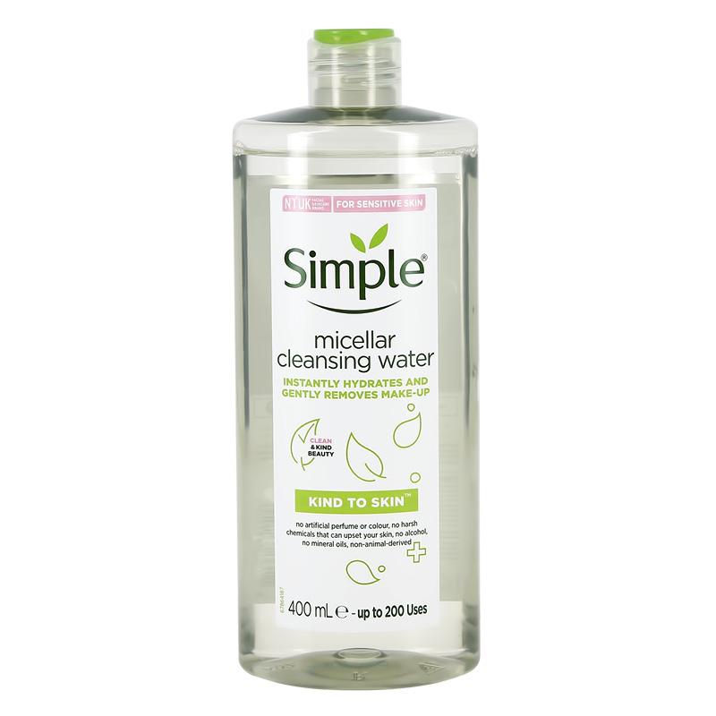 Мицеллярная вода Simple очищающая
