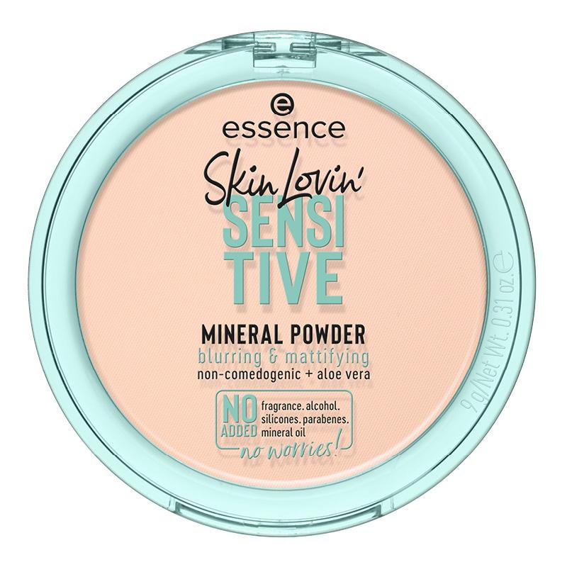 Пудра компактная для лица Essence Skin Lovin Sensitive минеральная для чувствительной кожи