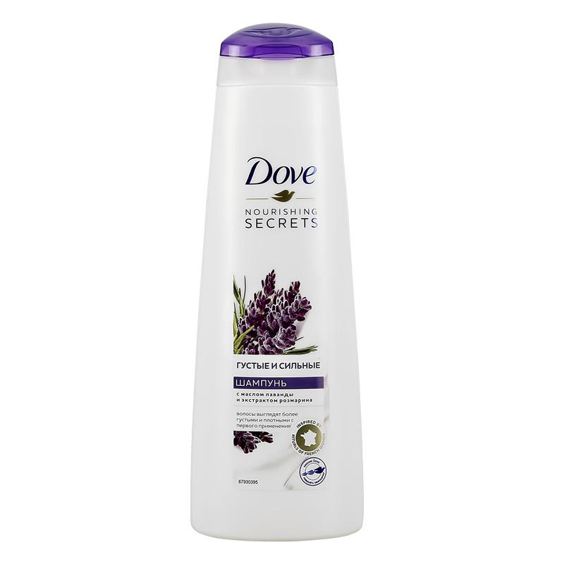 Шампунь для волос Dove Nourishing Secrets Густые и сильные (лаванда)