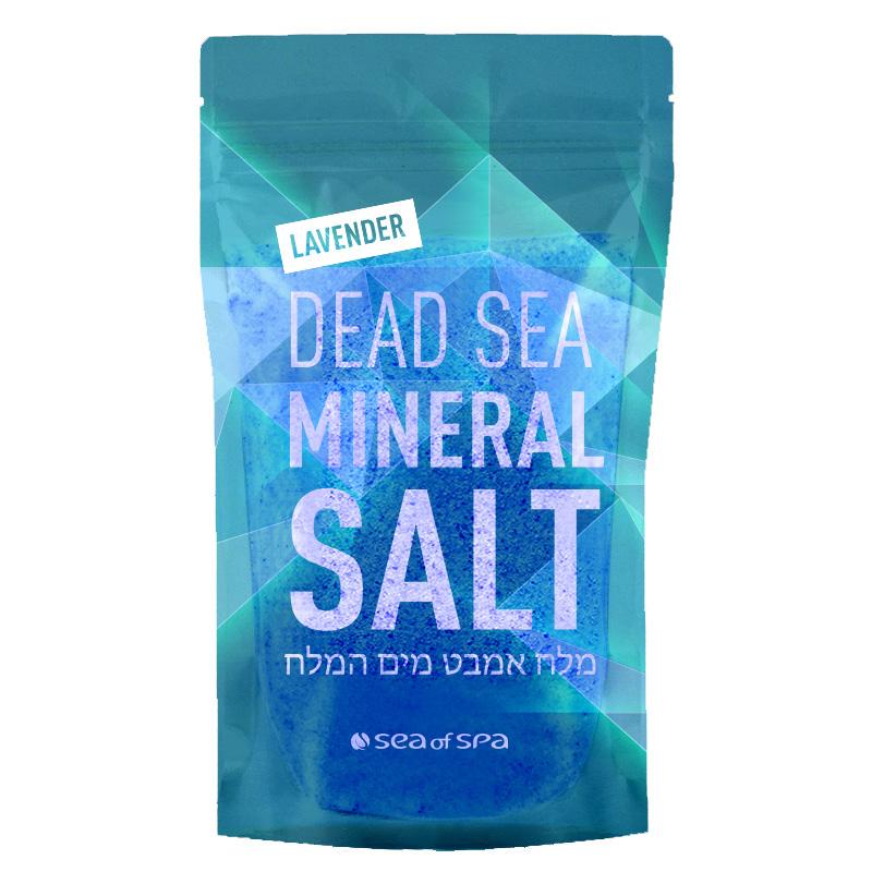 Соль для ванны Sea Of Spa минеральная Мертвого моря Лаванда