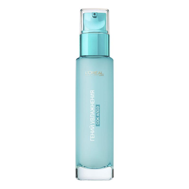 Аква-флюид для лица L'Oreal Гений Увлажнения для сухой и чувствительной кожи