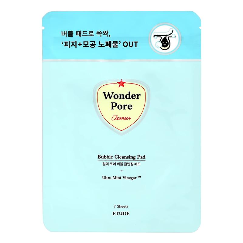 Диски для лица Etude House Wonder Pore очищающие