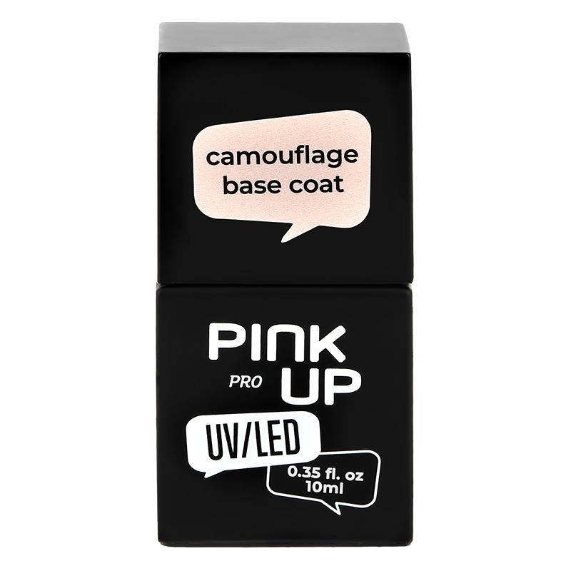 Камуфлирующая база для ногтей UV/LED Pink Up Pro Camouflage Base Coat тон 04