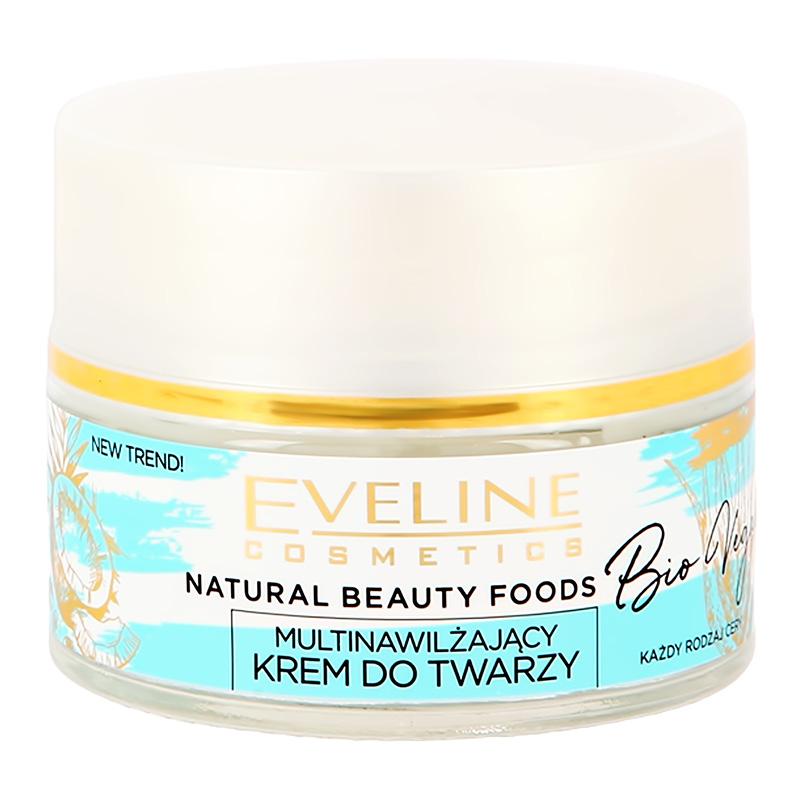 Крем для лица Eveline Bio Vegan дневной и ночной (глубоко увлажняющий)
