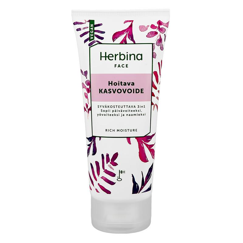 Крем для лица Herbina увлажняющий интенсивный