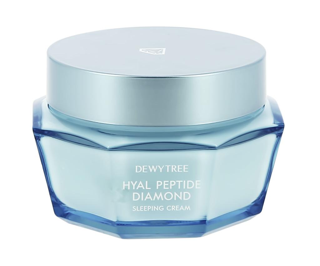 Крем для лица ночной увлажняющий с пептидами Diamond, Dewytree