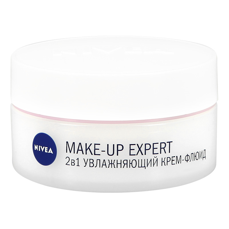 Крем-флюид Nivea Make-Up Expert увлажняющий для сухой и чувствительной кожи