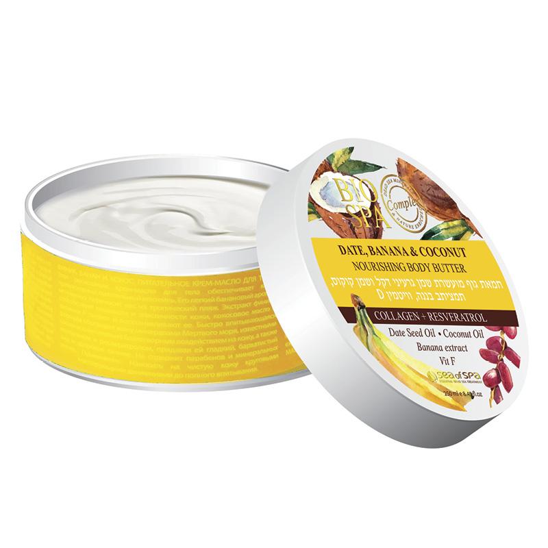 Крем-масло для тела Sea Of Spa Biospa Финик, банан и кокос (питательное)