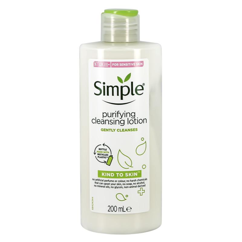 Лосьон для лица Simple очищающий