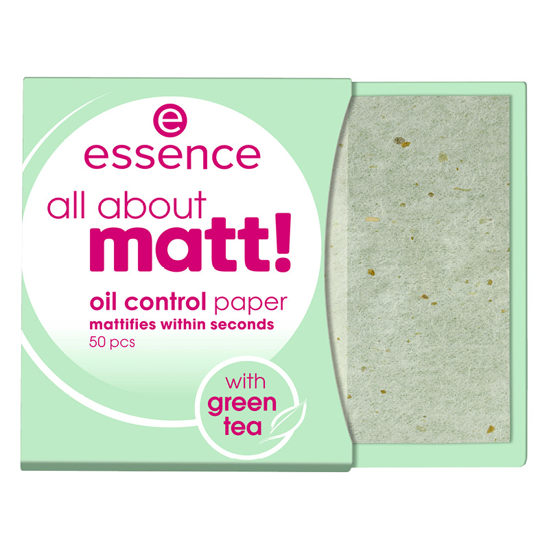 Матирующие салфетки для лица Essence All About Matt! 50 шт