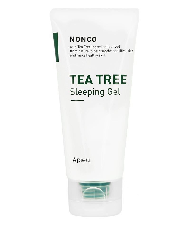 Ночной гель для лица Nonco Tea Tree с маслом чайного дерева