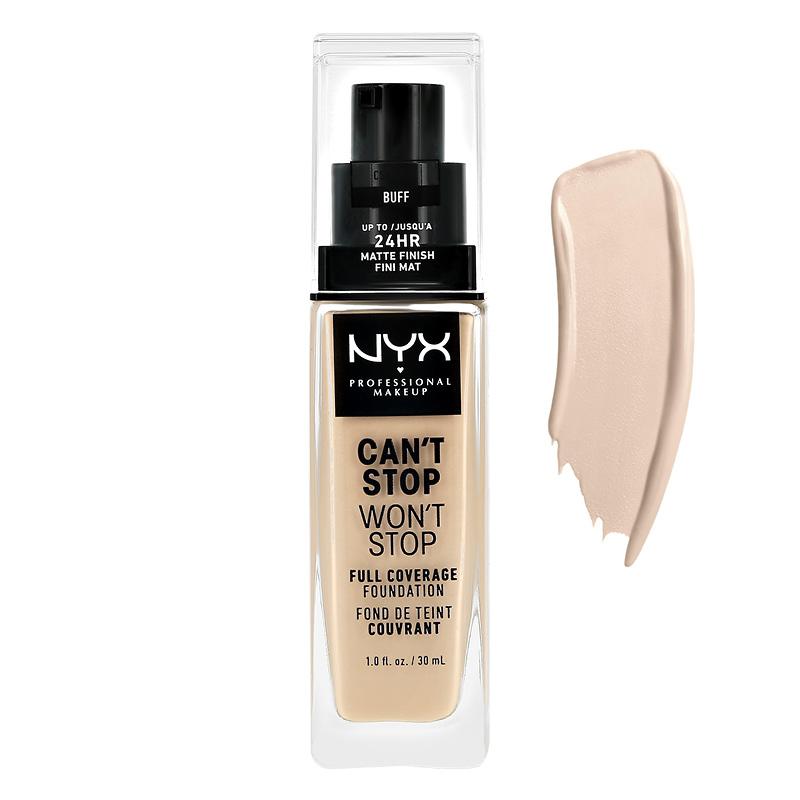 Основа тональная для лица NYX Professional Makeup Can`T Stop Won`T Stop тон 01.3