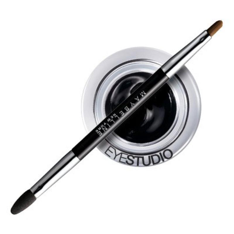Подводка гелевая для глаз Maybelline Eyestudio Lasting Drama 24 часа тон 01 (интенсивный черный)