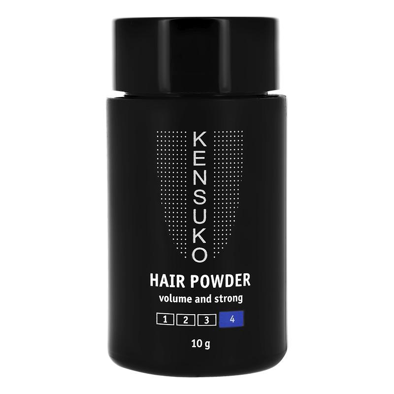 Пудра для объема сильной фиксации для темных волос Create, Kensuko