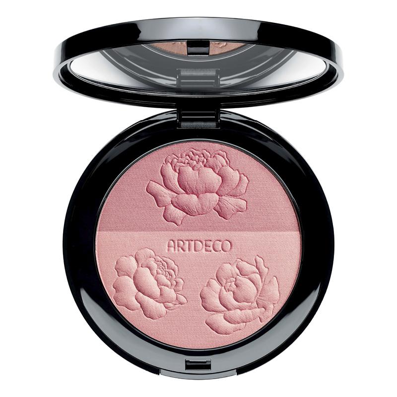 Румяна для лица Artdeco Blossom Duo Blush двухцветные тон Bloom Obsession (цветочное наваждение)