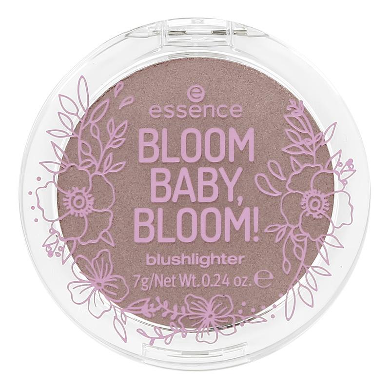 Румяна-хайлайтер для лица Essence Bloom Baby, Bloom! тон 01