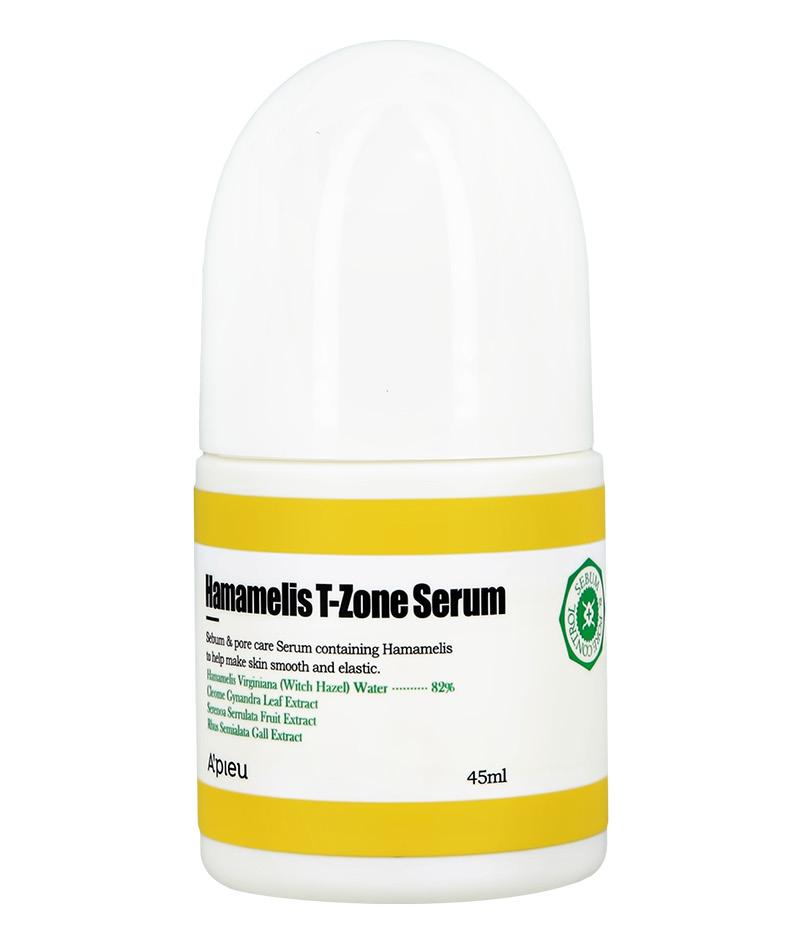 Сыворотка для Т-зоны лица с гамамелисом