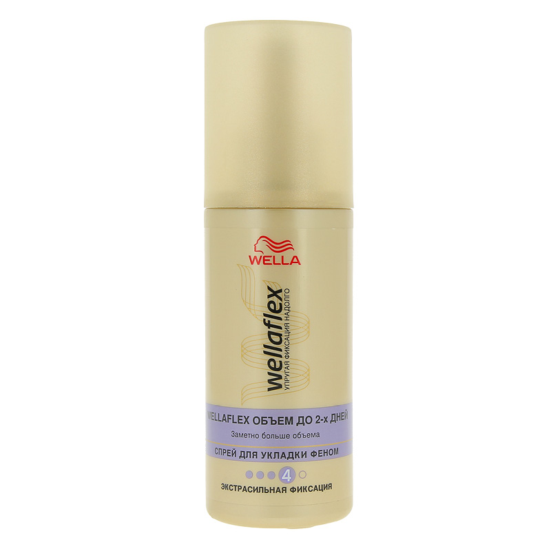 Жидкость для укладки волос сильной фиксации «Объем до 2 дней» Wellaflex, Wella