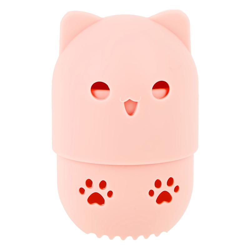 Чехол для хранения спонжа DECO. силиконовый Kitty