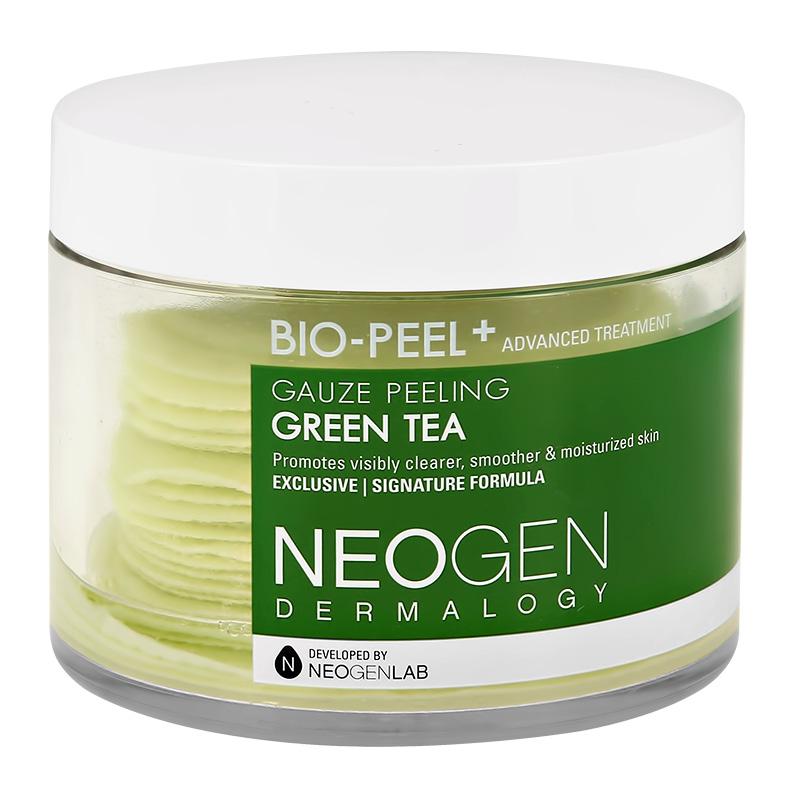 Диски для лица Neogen Bio-Peel+ отшелушивающие с экстрактом зеленого чая