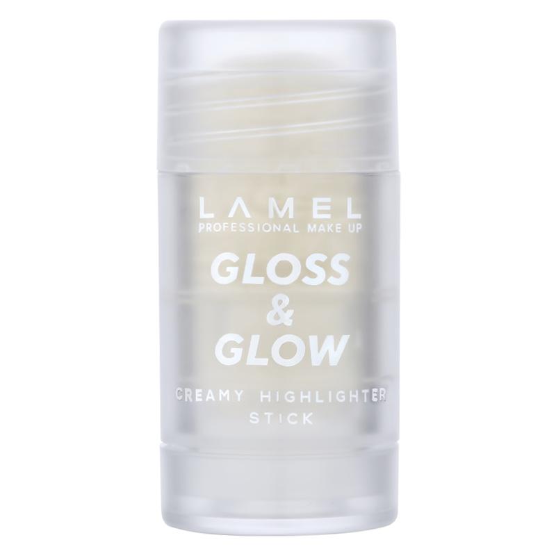 Хайлайтер для лица Gloss and Glow, тон 402, Lamel Professional