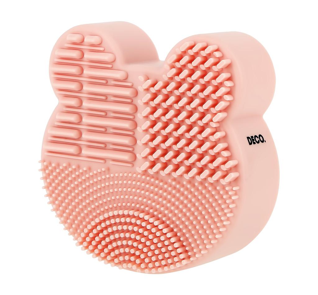Инструмент для очищения кистей и спонжей DECO. 3 в 1 Bear